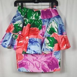 Vintage Jan Barboglio Skirt with Tulle Undercoat
